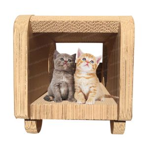 Cats Toy Tree Protect Furniture Cat Scratching Board