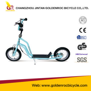 (Gl1201-BY) High Quality 12′′ Steel Frame Children Foot Scooter pictures & photos