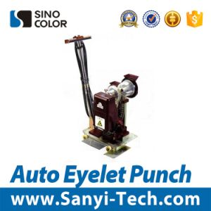 Ce Quality Auto Eyelet Punching Machine for Large Sheet pictures & photos