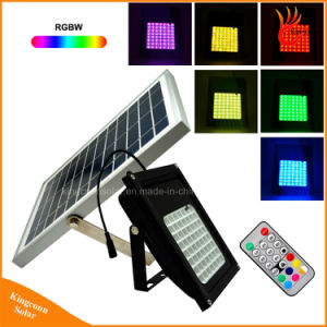 56 LED Solar Powered Garden Light RGB Solar Flood Light pictures & photos