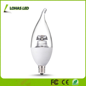 Dimmable LED Candle Light Bulb, E12 6W 2500k Warm White pictures & photos