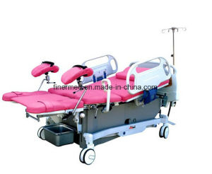 Low Position Maternity Delivery Gynecological Bed pictures & photos