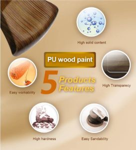 Hualong PU High End Anti-Yellow Furniture Coating (HJ2050) pictures & photos