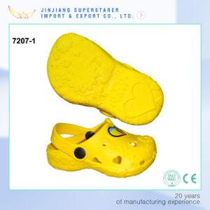 Yellow Color EVA Kids Clogs, Summer Sandal Shoes pictures & photos