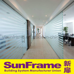 Hot Sale Office Aluminum Frame Glass Partition pictures & photos