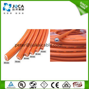 China 35mm Orange Flexible Rubber Welding Cable and Wire pictures & photos