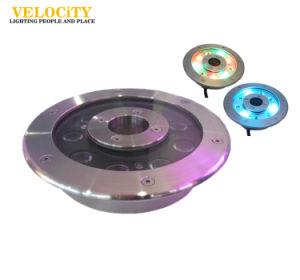 IP68 6W/9W/12W/18W/24W RGB Stainless Steel LED Fountain Light