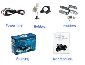 La Moto De Audio Alarm USB SD FM Bluetooth Speaker for Motorcycle MP3 pictures & photos