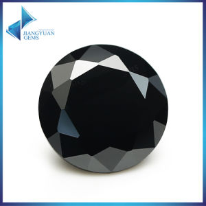 Loose CZ 1mm - 10mm Synthetic Black Cubic Zirconia Stone pictures & photos