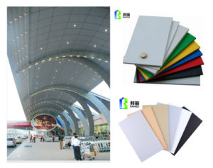 Exterior Building Material Curtain Wall Sandwich Board ACP Acm pictures & photos