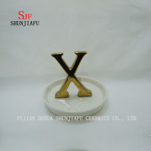 Creative Letters Ceramic Ring Dish pictures & photos
