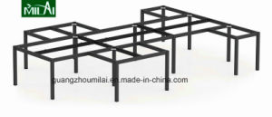 Hot Wholesale Modern 120 Degree Cross Workstation with Steel Leg pictures & photos