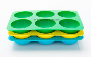 Food Grade Promotional Silicone Ice Mould, Silicone Ice Ball Tray pictures & photos
