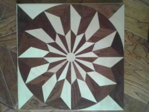 Grey Spin-Style Parquet /Engineered Wood Flooring pictures & photos
