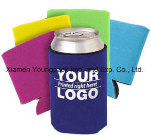 Promotional Custom Printed Budget Neoprene Collapsible Koozie Stubby Beer Can Holders pictures & photos