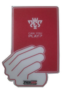 Big Red Card Foam Hand with Customer′s Logo pictures & photos