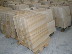 Chinese Yellow Sandstones Big Slabs Yellow Sandstone pictures & photos