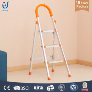 3 Step High Quality Multi Function Aluminium Ladder pictures & photos