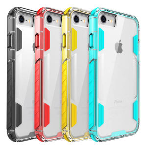 Transparent PC Back Anti Fall Hard Cell Phone Case for iPhone 7/7 Plus