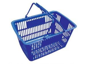 Hot Sale HDPE Plastic Shopping Basket pictures & photos