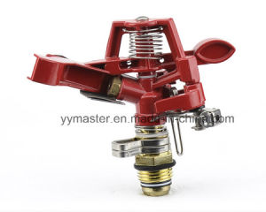 "Zinc Alloy Controllable Angle Rotary Sprinkler 1/2"" Male for Lawn Farm Irrigation pictures & photos"