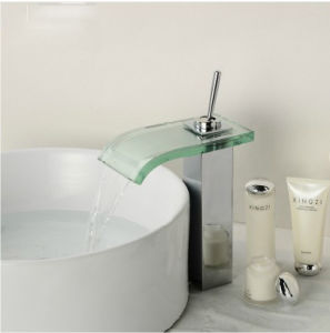 Single Lever Chrome Bathroom Sink Faucet Mixer pictures & photos