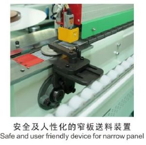 Automatic Edge Banding Machine with Corner Trimming Without Pre Milling Function pictures & photos