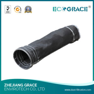 PTFE Graphite Silicon 1/3 Twill Weaving Fiberglass Filter Bags Dust Filter Bags pictures & photos