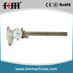 0-8′′ Stainless Steel Dial Caliper pictures & photos