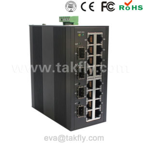 10/100/1000m Managed Industrial Ethernet Switch pictures & photos