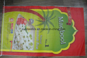 Beautiful Printing 25kg BOPP Rice Bag pictures & photos