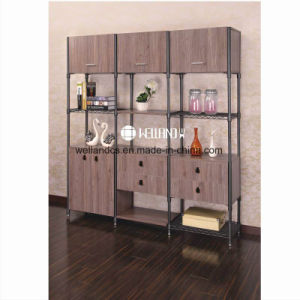 2017 New Design Adjustable Steel-Wooden Furniture for Dining Room pictures & photos