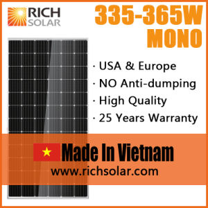 Made in Vietnam 350W Monocrystalline Solar Power System pictures & photos