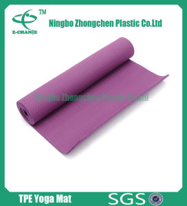 Sport Mats Natural Yoga Mat TPE pictures & photos
