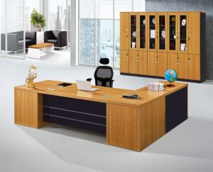 China Modern Office Furniture MFC Wooden MDF Office Table (NS-NW013) pictures & photos