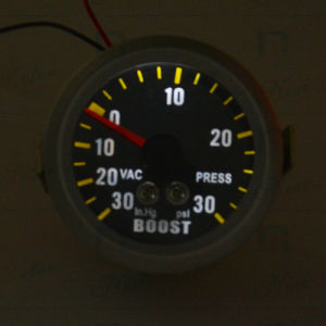 Auto Universe Boost Gauge with Black Dial pictures & photos