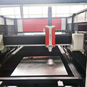 Third Generation 500W Raycus Fiber Laser Cutting Machine with Double Table pictures & photos