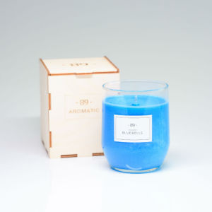 Luxury Wholesale Jars Glass Gift Candle with Beautiful Box