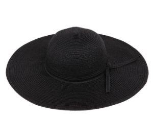 Broad Brim Straw Beach Women′s Hat pictures & photos