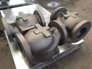 Control Valve Body Parts Body Bonnet Casting Carbon Steel Casting pictures & photos
