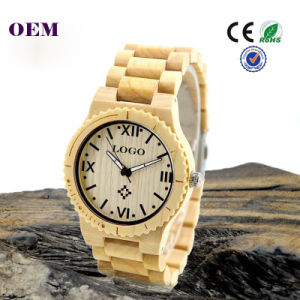 Fashion Environmentally Friendly Wooden Wrist Watch pictures & photos