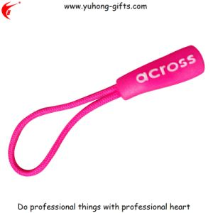 High Quality Pink Soft PVC Zipper Puller for Garments (YH-ZP013) pictures & photos