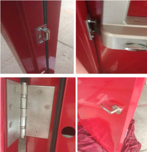 UL Certificated Steel Fire Door for Escape Access (CHAM-ULSD004) pictures & photos