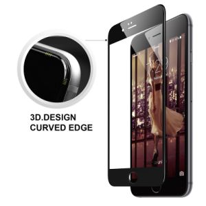 9h 3D Curved Full Cover Glass Screen Protector for iPhone 7 (4.7 inch) (0.33mm) pictures & photos