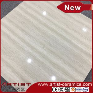 Glossy Nano Polished Line Stone Double Loading Porcelain Floor Tiles pictures & photos