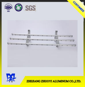 High Quality Liftable Aluminum Retractable Push Pull Folding Hanging Clothes Rack pictures & photos