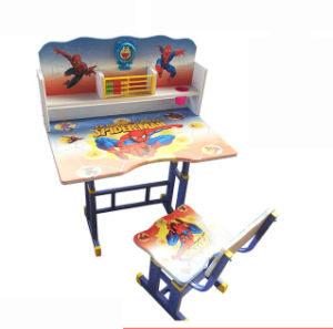 School Furniture Modern Adjustable Study Table Kids Student Desk (HX-SK002) pictures & photos