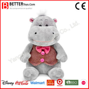 Cute Stuffed Animals Plush Hippo Baby Toy in Vest pictures & photos