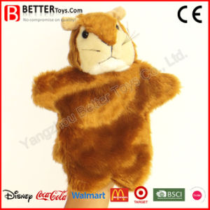 Stuffed Squirrel Plush Animal Soft Hand Puppet for Kids/Children pictures & photos