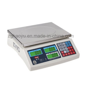Digital Counting Desktop Scale Scale 15 Kg From Haoyu pictures & photos